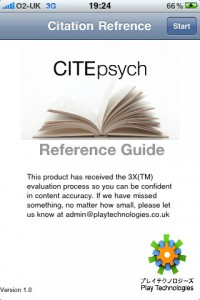citepsych for iphone