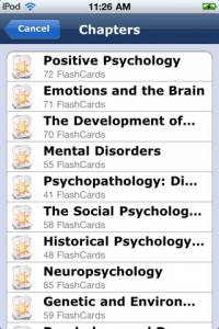 college psychology for iphone