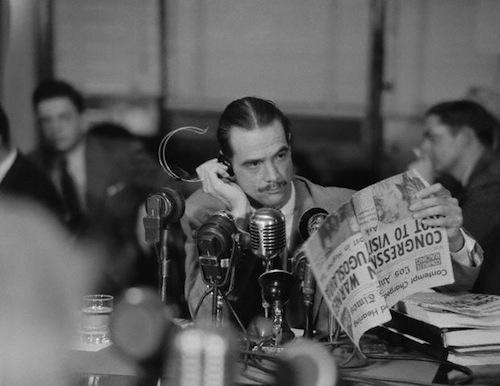 Howard Hughes Testifying