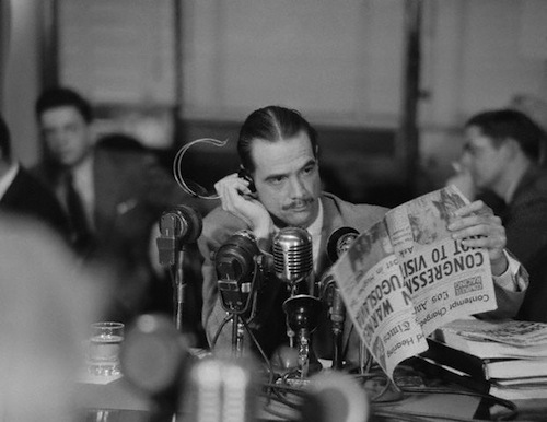 Howard Hughes Testifying