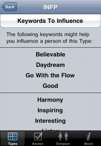 personality types for iphone